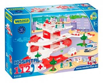 Kid Cars 3D - набор скорая помощь, Wader 53330