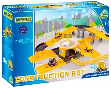 Kid Cars 3D Набор стройка, Wader 53340
