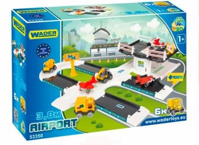 Kid Cars 3D - аеропорт, Wader 53350