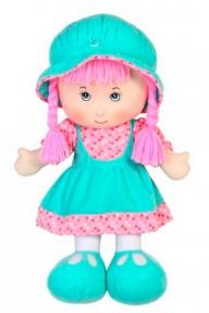 Мягконабивная кукла в юбочке (бирюзовый), 36 см 53514-1