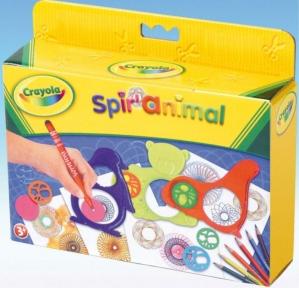 Набор для творчества с карандашами, штампами и трафаретами Спирали 5452