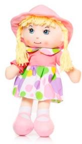 Мягконабивная кукла в шляпке, 36 см 56114-1