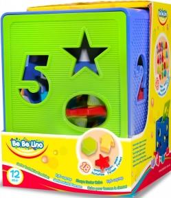 Развивающая игрушка Куб-сортер 57116