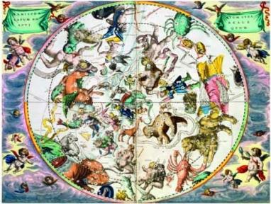 Пазл Editions Ricordi Андреас Циллариус Зодиак из астрономического атласа 1500 эл. 5901n32080