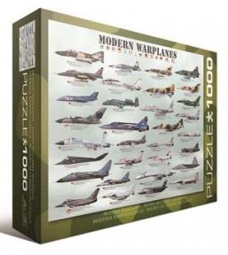 Пазл Современные военные самолеты 1000 эл 6000-0076
