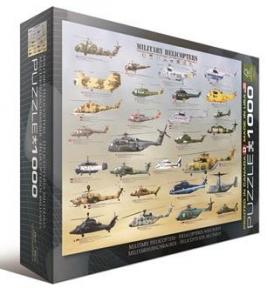 Пазл Военные вертолеты 1000 эл 6000-0088