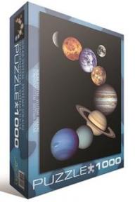 Пазл Солнечная система 1000 эл 6000-0100