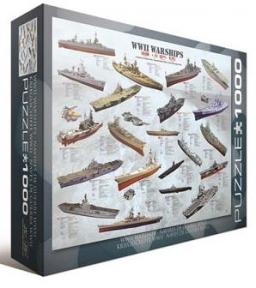 Пазл Корабли 2-й Мровой войны 1000 эл 6000-0133