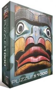 Пазл копия картины Тотемный столб Крис Круг 1000 эл 6000-0243