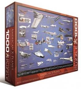 Пазл Америанские самолеты разведчики 1000 эл 6000-0248