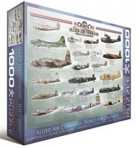 Пазл Бомбардировщики 2-й Мировой войны 1000 эл 6000-0378