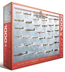 Пазл Истребители 2-й Мировой войны 1000 эл 6000-0379