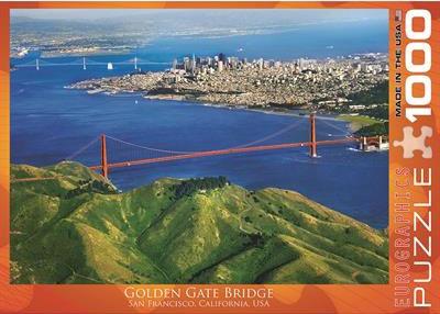Пазл Мост Голден Гейт 1000 эл 6000-0548