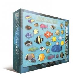 Пазл Тропические рыбы 1000 эл 6000-1173
