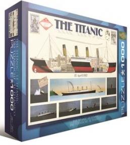 Пазл Титаник 1000 эл 6000-3510