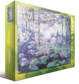 Пазл копия картины Водяные лилии Клод Оскар Моне 1000 эл 6000-4366