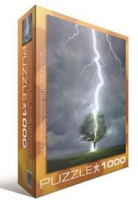 Пазл Молния ударяющая в дерево 1000 эл 6000-4570