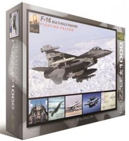 Пазл Фалкон F-16 в полете 1000 эл 6000-4956