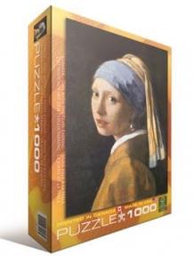 Пазл копия картины Девушка с жемчужной серёжкой Ян Вермеер 1000 эл 6000-5158
