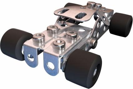 Конструктор металлический, Racecar Bolide de Course, Meccano, Racecar Bolide de Course 6026713-1