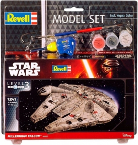 Сборная модель копия Revell набор Космический корабль Тысячелетний Сокол уровень 3 масштаб 1:241