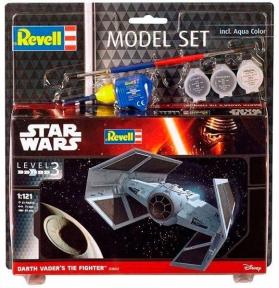 Сборная модель-копия Revell набор Звездный СИД-истребитель Дарта Вейдера уровень 3 масштаб 1:121