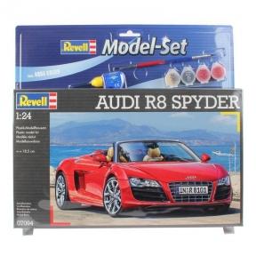 Model Set Автомобиль (2009г.,Германия) Audi R8 Spyder 1:24 67094