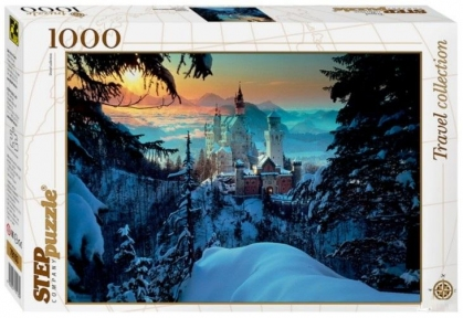 Пазл Бавария Замок Нойшванштайн 1000 эл Step Puzzle 79103