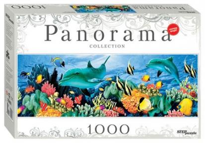 Пазл-панорама Подводный мир 1000 эл 79401