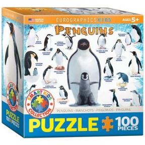 Пазл Пингвины, 100 элементов 8100-0044