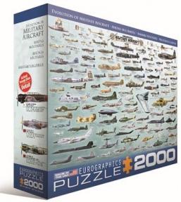 Пазл Развитие военное авиации 2000 эл 8220-0578