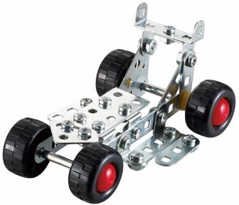 Конструктор металлический Гоночная машина (84 дет.), Tronico, E 9551-5