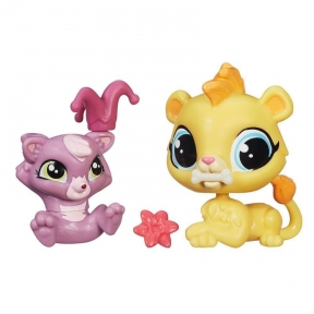 Зверюшка и малыш Leona Filbert, Littlest Pet Shop, Hasbro A7313-13