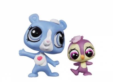 Игрушки Маленький Зоомагазин Зверюшка и ее малыш Tundra Marchand и Flip Flurry A7313-2