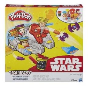 Игровой набор пластилина Тысячелетний Сокол Звездные войны, Play Doh B0002