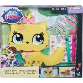 Укрась желтую зверюшку, набор Littlest Pet Shop B0033-2