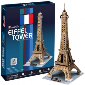 Трехмерная модель Эйфелева башня  CubicFun C044h