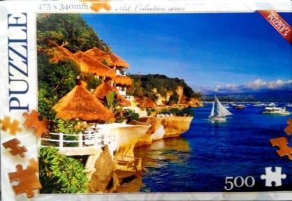 Пазл Морской пейзаж 500 эл C500-07-10