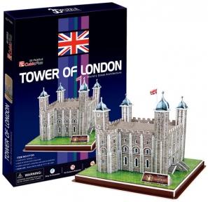 Трехмерная модель Лондонский Тауэр, CubicFun C715h
