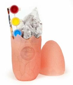 Яйцо динозавра Юрского периода (розовое) – собери и раскрась, Geoworld , розовый CL574K-1