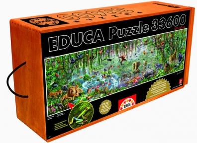 Пазл Дикая жизнь 33600 элементов EDU-16066