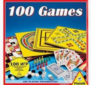 Набор настольных игр 100 в 1 780196