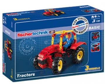 Конструктор Тракторы базовый 130 дет FT-520397