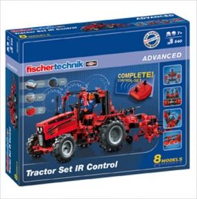 Конструктор Трактор с ДУ базовый 660 дет FT-524325