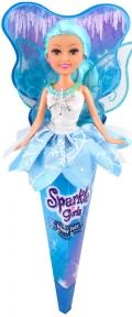 Ледяная фея Мия в бело-голубом платье (25 см), Sparkle girlz, Funville, бело-голубое платье FV24008-3