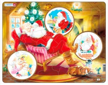 Пазл Дед Мороз сория Макси 33 эл JUL2