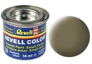 Краска для моделей эмалевая Revell № 39 Темно-зеленая матовая 14 мл.