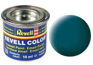 Краска для моделей эмалевая Revell № 48 Зеленое море матовая 14 мл