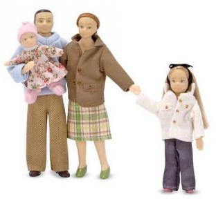 Victorian Doll Family Семья для Викторианского домика MD12587