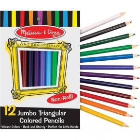 Мелисса и Дуг MD4119 Цветные карандаши (12 цветов) MD4119